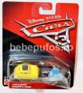 Set masinute metalice Luigi si Guido Disney Cars 3
