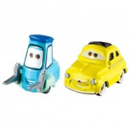Set masinute metalice Luigi si Guido Disney Cars 3
