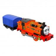 Trenulet Locomotiva Motorizata cu Vagon Nia Thomas&Friends Track Master