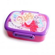 Cutie de pranz mov Barbie