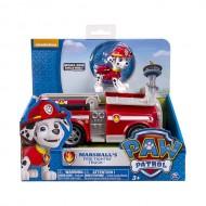 Set Marshall si Masina de Pompieri Patrula Catelusilor