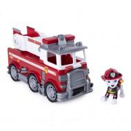 Set Marshall si Masina de Pompieri Ultimate Rescue Patrula Catelusilor