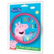 Lampa de perete Push Peppa Pig