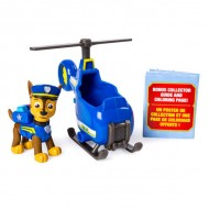 Set Chase si mini elicopterul de politie Ultimate Rescue Patrula Catelusilor