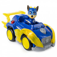 Set Chase si Super Masina de Politie cu sunete si lumini Paw Patrol Mighty Pups - Patrula Catelusilor