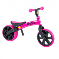Bicicleta fara pedale roz Junior Balance Yvelo