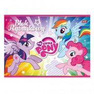 Bloc de desen A4 cu 20 coli My Little Pony