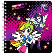 Caiet notite cu spirala A6 My Little Pony Equestria Girls