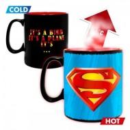 Cana termosensibila Superman 460 ml
