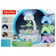 Carusel 3 in 1 Fisher-Price Noaptea Instelata - Butterfly Dreams