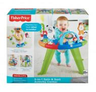 Centru de activitati 3-in-1 Spin & Sort Fisher-Price