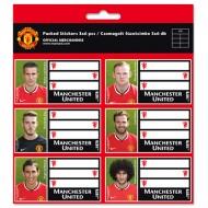 Etichete Caiet A5 FC Manchester United