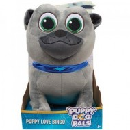 Figurina de plus Bingo 25 cm Puppy Dog Pals - Prietenii Catelusilor Disney Jr.