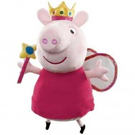Figurina de plus Peppa Pig 35 cm Printesa Peppa