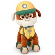 Figurina de plus Rubble 27 cm Jungle Rescue Patrula Catelusilor