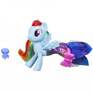 Figurina Rainbow Dash sirena si ponei My Little Pony:Filmul