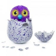 Hatchimals jucarie de plus interactiva Draguella in ou mov