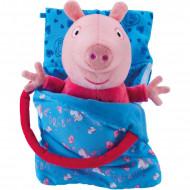 Jucarie de plus Peppa Pig Sleepover Peppa