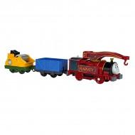 Locomotiva motorizata cu 2 vagoane Harvey Thomas & Friends TrackMaster