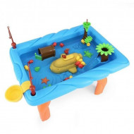 Masa interactiva albastra pentru joaca cu apa - Pescuieste si distreaza-te!