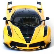 Masinuta Ferrari FXX-K R Galbena 1/18 Bburago