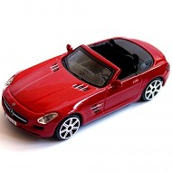 Masinuta Mercedes-Benz SLS AMG Roadster Rosu 1/43 Bburago