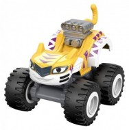 Masinuta Metalica Stripes Super Tigru- Blaze and the Monster Machines