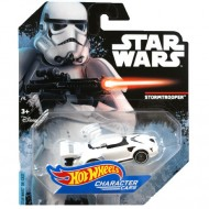 Masinuta Stormtrooper 1/64 Hot Wheels Star Wars Character Cars