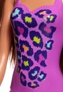 Papusa Barbie in costum de baie