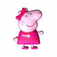 Perna silueta Peppa Pig roz 35 cm