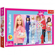 Puzzle Barbie 100 piese - Poti fi orice iti doresti