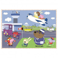 Puzzle Peppa Pig 4 in 1 - 35, 48, 54 si 70 piese
