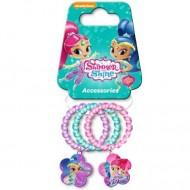 Set 3 elastice de par cu accesoriu Shimmer&Shine