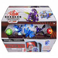 Set 4 Bakugan Armored Alliance Baku-Gear figurine Batrix Ultra si Ramparian Ultra
