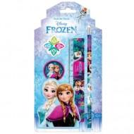 Set 4 instrumente de scris Frozen