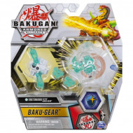 Set Bakugan Armored Alliance Baku-Gear figurina Tretorous Ultra alb