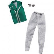 Set de haine Ken -  vesta, pantaloni lungi si ochelari de soare Barbie