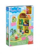 Set de joaca Casuta lui Peppa Pig cu gradina
