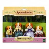 Set de joaca Familia catelusilor Chiffon Sylvanian Families