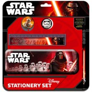 Set de papetarie cu penar Star Wars