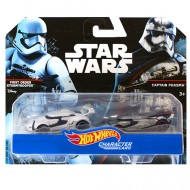 Set Masinute Stormtrooper si Captain Phasma 1/64 Hot Wheels Star Wars Character Cars