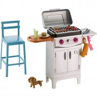 Set mobila de joaca Barbeque Barbie