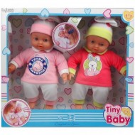 Set papusi gemene care plang Tiny Baby