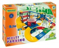 Garaj Multi Parking 9.1 m Wader Kid Cars 3D