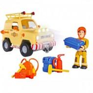 Set de joaca Masina de teren Tom cu accesorii Sam Pompierul