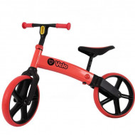 Bicicleta fara pedale rosie Yvelo