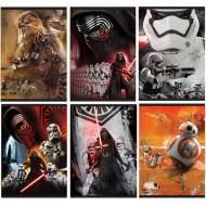 Caiet de matematica in 6 variante A4 Star Wars