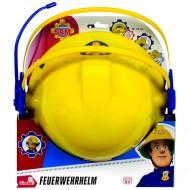 Casca de pompieri cu microfon Sam Pompierul