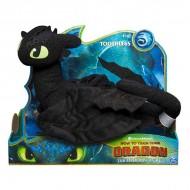 Figurina de plus Toothless (Stirbul) - Cum sa-ti dresezi dragonul