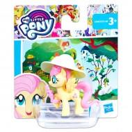 Figurina Fluttershy cu buchet de flori Friendship is Magic My Little Pony